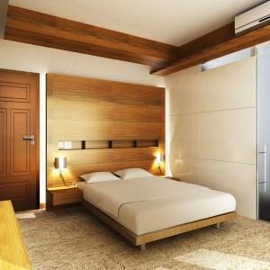 Drzwi Nostre Lux charakteryzują się wyjątkową, przestrzenną listwą profilową, która w połączeniu z naturalnymi okleinami, wprowadza ponadczasową elegancję do pomieszczenia. Fot. Pol-Skone