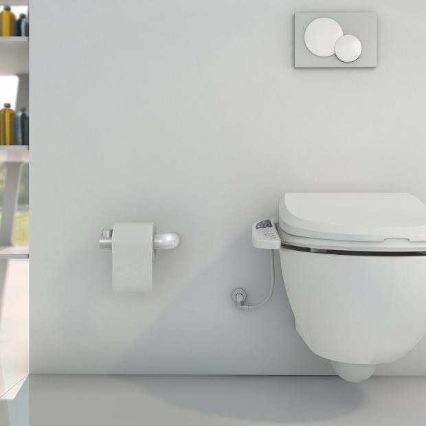 Nowoczesna łazienka: deska z opcją mycia