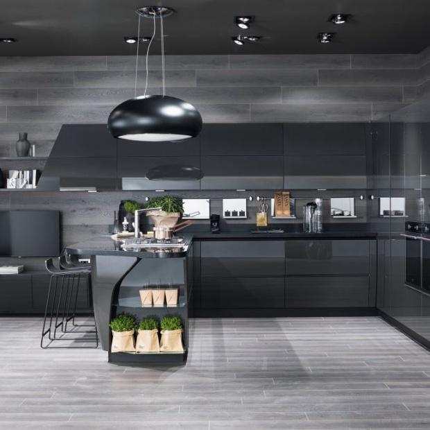 Krągłości są w modzie: opływowe kształty w kuchni