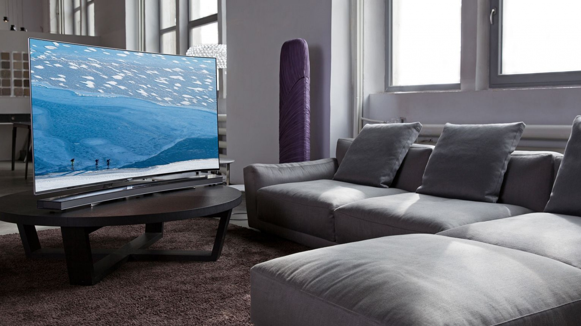 Soundbar z telewizorem Smart-TV KS9000. Fot. Samsung