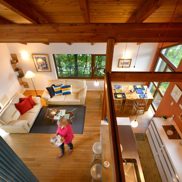 Modelowy dom w Japonii - zobacz projekt  z polskimi oknami