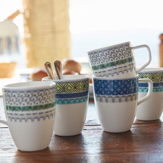Śródziemnomorska porcelana w stylu majoliki