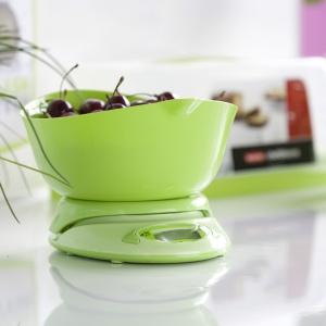 Waga kuchenna elektroniczna zielona z kolekcji firmy Galicja dla Twojego Domu.