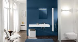Pomysłowe sposoby przechowywania – takie jak panel prysznicowy, w którym można ukryć ręcznik i kosmetykito rozwiązania,które czynią łazienkę bardziejkomfortową.