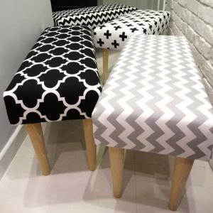 Ławki tapicerowane. Fot. HouseBerry.pl