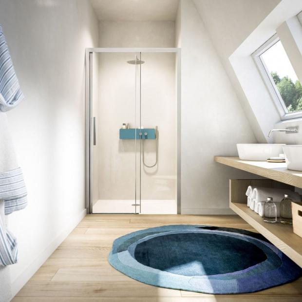 Nowoczesna kabina prysznicowa: nowości od włoskiej marki