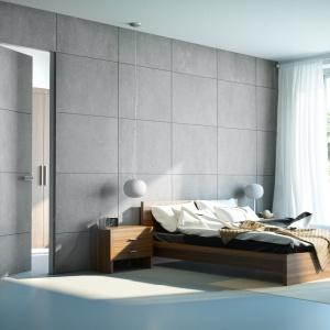 Nowoczesne drzwi: aluminium, beton i naturalna skóra