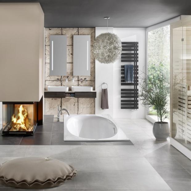 Styl chalet: pomysły na aranżację łazienki