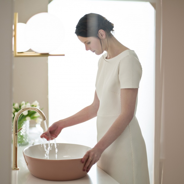 Gesa Hansen projektuje umywalki i wanny