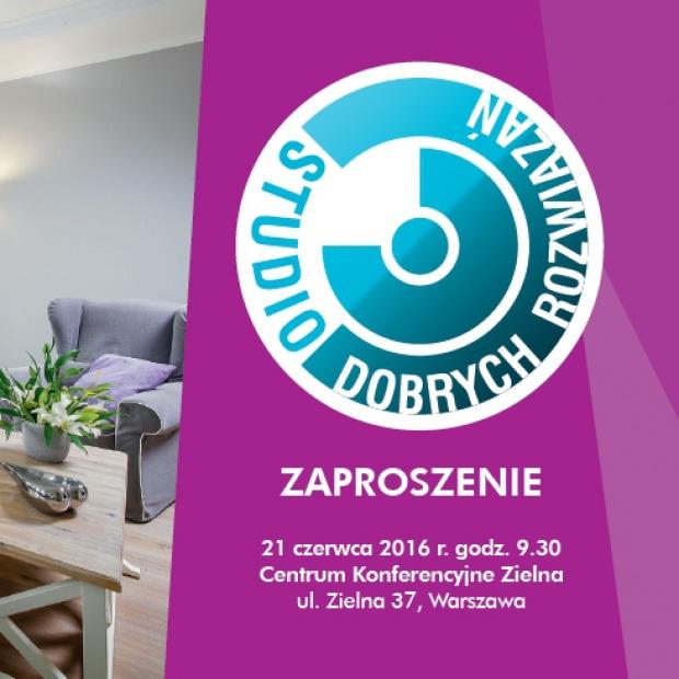 Studio Dobrych Rozwiązań - zapraszamy do Warszawy!