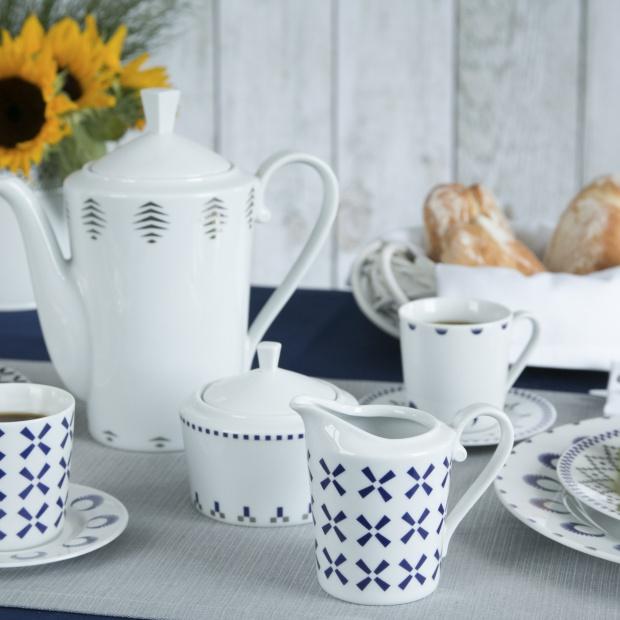 Piękna porcelana: kolekcja inspiowana folklorem Europy