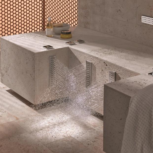 Strefa kąpieli: prysznic do nóg
