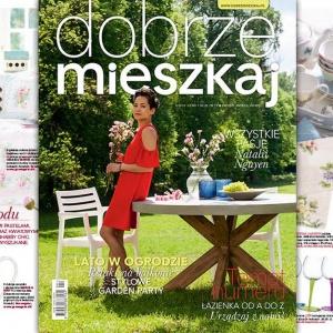 """Magazyn """"Dobrze Mieszkaj"""" – nowa odsłona wnętrzarskiego czasopisma"""