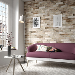Piękny salon: najmodniejsze materiały na podłogi i ściany