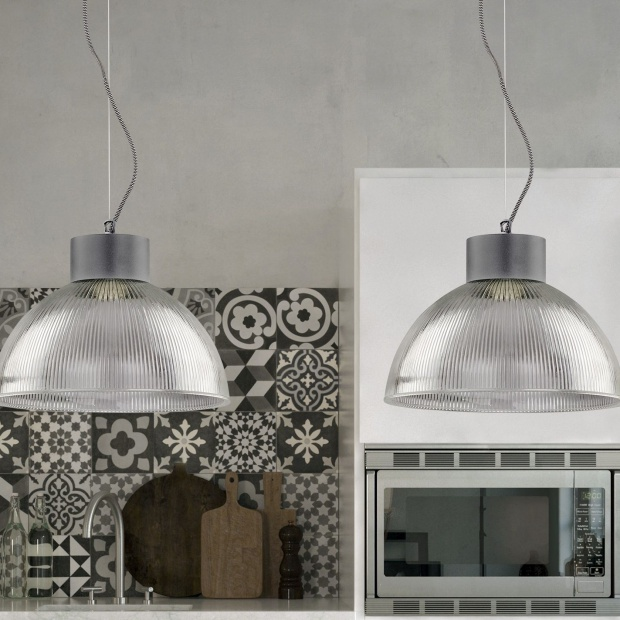 Industrialne wnętrze: zobacz loftową lampę