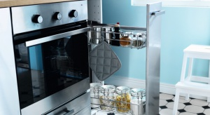 Carga to rodzaj wyciągów, które zastępują tradycyjne półki w szafkach kuchennych. Wszystko ma swoje miejsce i jest schowane.