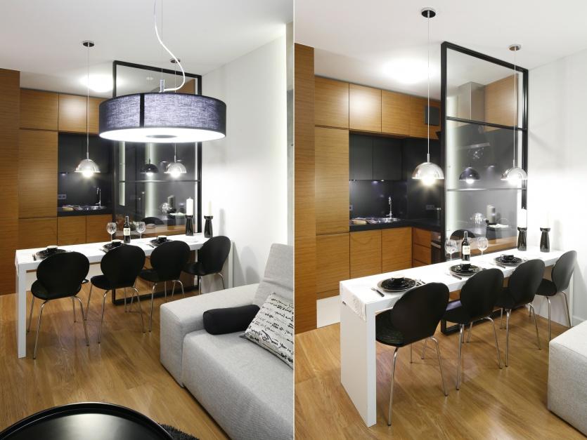 Kuchnię przesłonięto Mała kuchnia  jak ją   -> Mala Kuchnia Loft