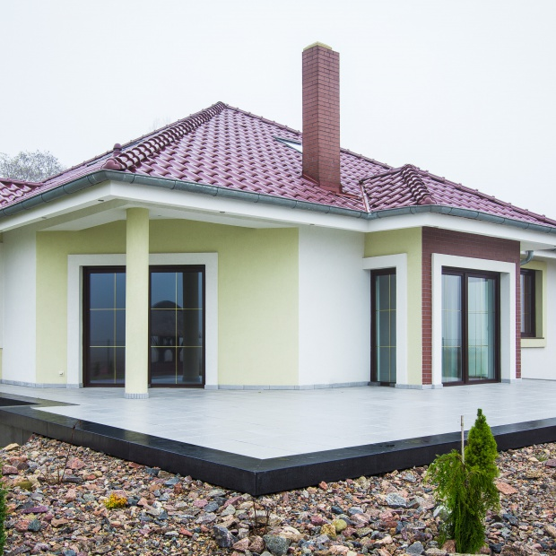 Piękny ogród i taras – płyty ze szlachetnego betonu