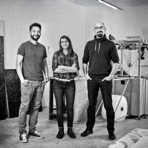 """Trufle Mozaiki - studio projektowe, które opracowało unikatową w Polsce technologię pozwalającą na przygotowanie mozaiki według dowolnego wzoru – otrzymało nagrodę """"Innowator Śląska"""". Fot. Trufle Mozaiki"""