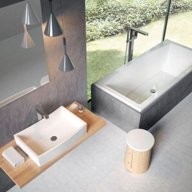 Nowoczesna łazienka: nowa kolekcja wanien i umywalek