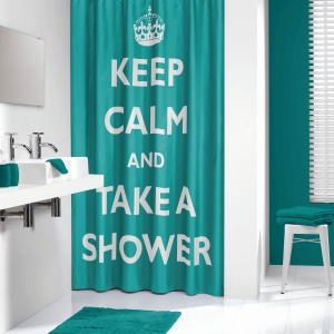 Zasłona prysznicowa Testo.  Fot. Sealskin