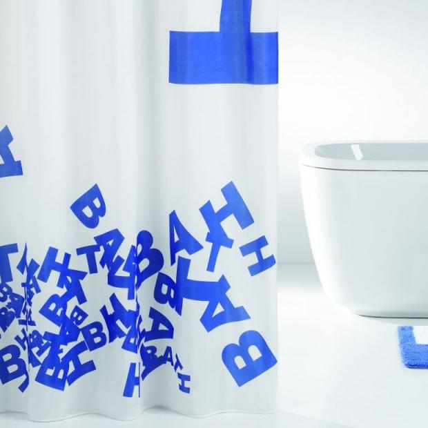 Szybki lifting łazienki: oryginalne zasłony prysznicowe