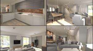 Sprawdź co nasz projektant radzina tematzastosowania cegły pomiędzy dolnymi a górnymi szafkamiw kuchni.