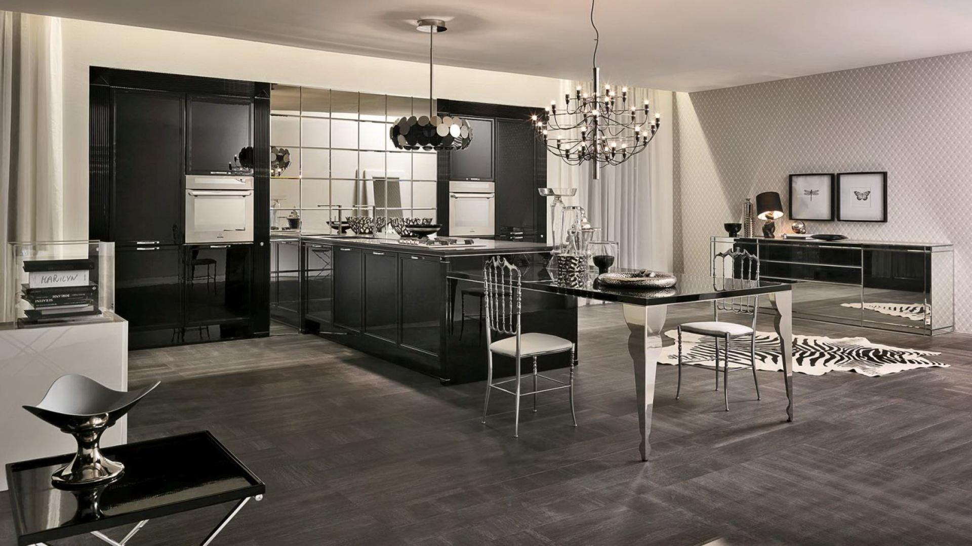 Kuchnia luxury glam fot meble kuchenne zobacz ekskluzywne w oskie kuchnie na wymiar - Aster cucine spa ...