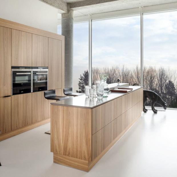 Modna kuchnia: postaw na jasne drewno