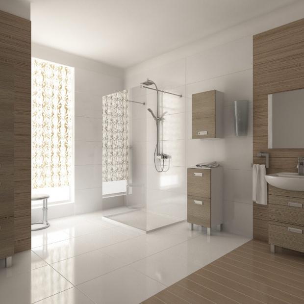 Modna łazienka: postaw na styl transitional
