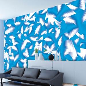 Dekoracja ścian: Karim Rashid projektuje tapety