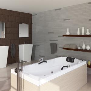 10 pomysłów na łazienkę w stylu skandynawskim