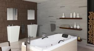Dużo bieli, prostota, drewno i praktyczne rozwiązania – z takimi cechami kojarzy się styl skandynawski. Jest idealny do łazienek na każdy metraż.
