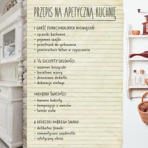 Apetyczna kuchnia. Infografika Eurofirany