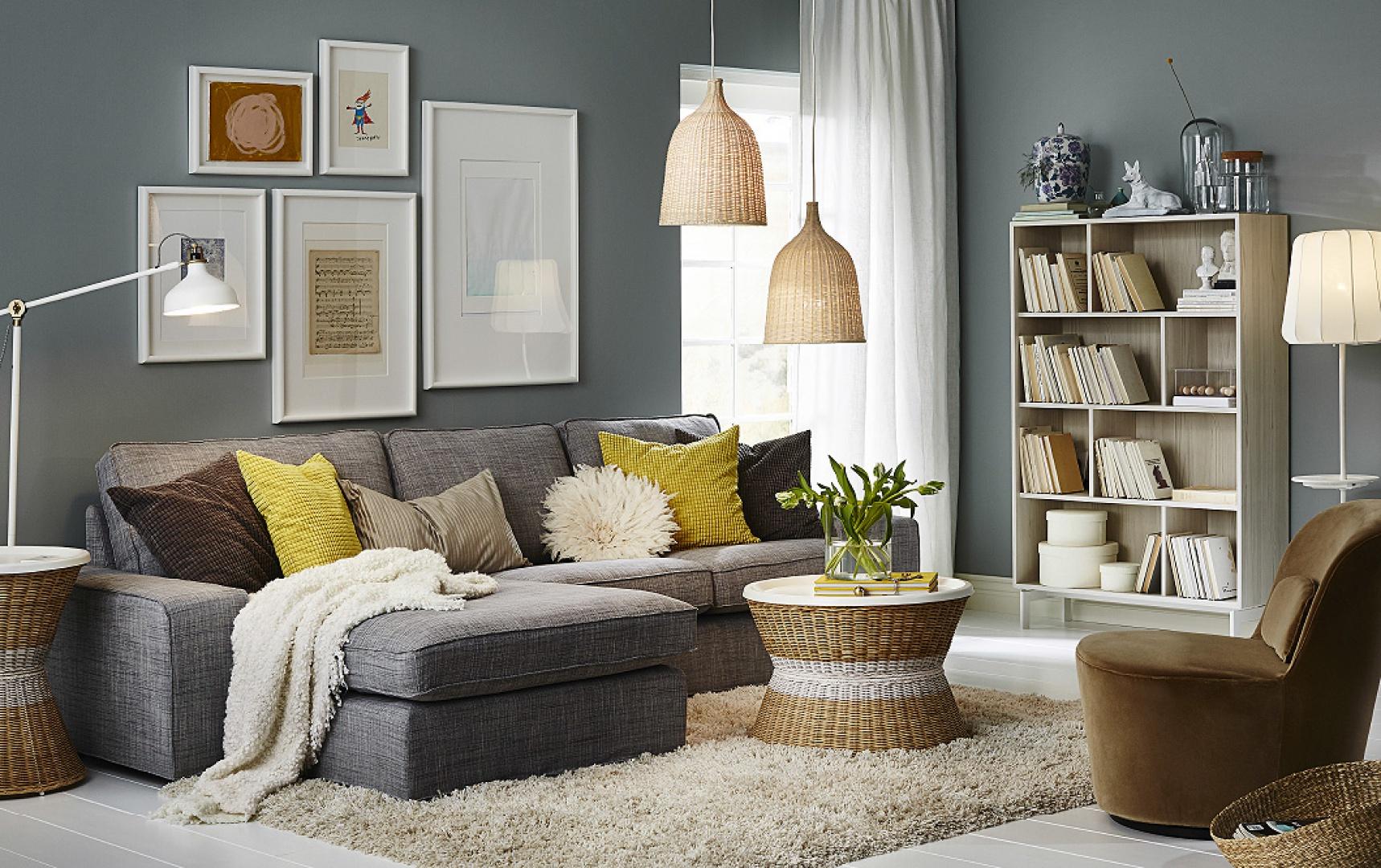 3-osobowa sofa Kivik marki IKEA.  W tkaninie - 2848 zł, IKEA, fot. materiały prasowe