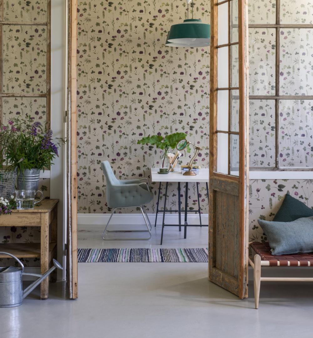 Kolekcja tapet  Simplicity szwedzkiej marki Eco, fot. materiały prasowe
