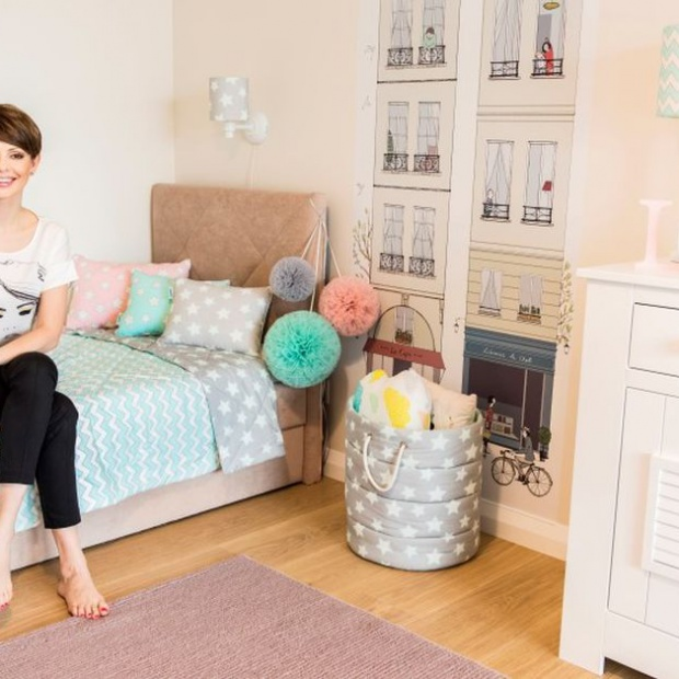 Pokój córki Doroty Gardias - zobacz jak jest urządzony