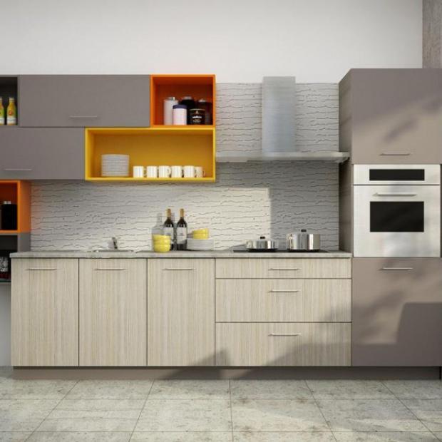 5 pomysłów na kuchnię w kolorze kawy z mlekiem
