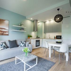 Zobacz apartament w kolorach morza