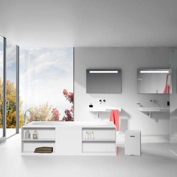 Biała łazienka - 10 ciekawych aranżacji wnętrz
