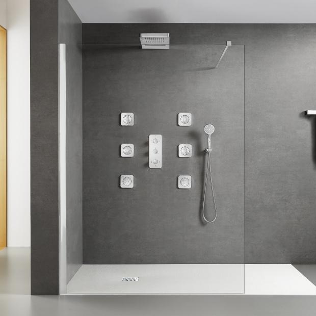 Modny prysznic - wybierz nowoczesną armaturę