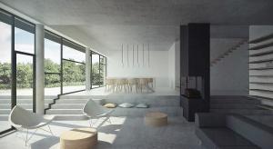 Małopolska Chata Podcieniowa to dom dla czteroosobowej rodziny, który czerpie inspiracje z tradycyjnej, drewnianej architektury podcieniowej. Historyczne podcienia osłaniały front domu przed deszczem oraz działaniem słońca. Domy podcieniowe często