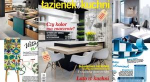 """Od numeru lipiec-sierpień (4/2016) magazyn wnętrzarski """"Świat Łazienek i Kuchni"""" zyskuje nowy charakter. Najważniejsza zmiana dotyczy prezentacji treści o tematyce poradnikowo-shoppingowej."""