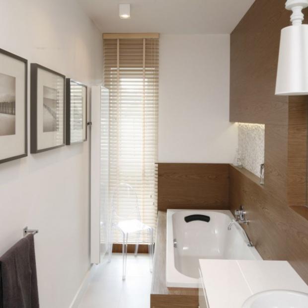 12 zdjęć łazienek w kolorach ziemi