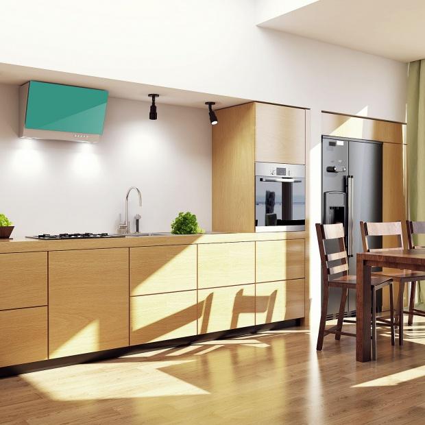 AGD do kuchni - okap subtelnie dopasowany