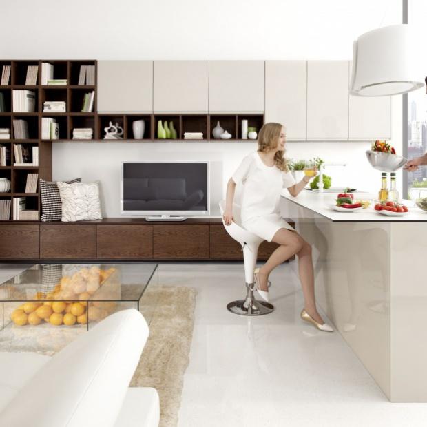 5 aranżacji małej kuchni z barkiem śniadaniowym
