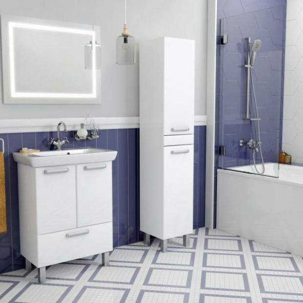 Zobacz kolekcje mebli na mały metraż łazienki
