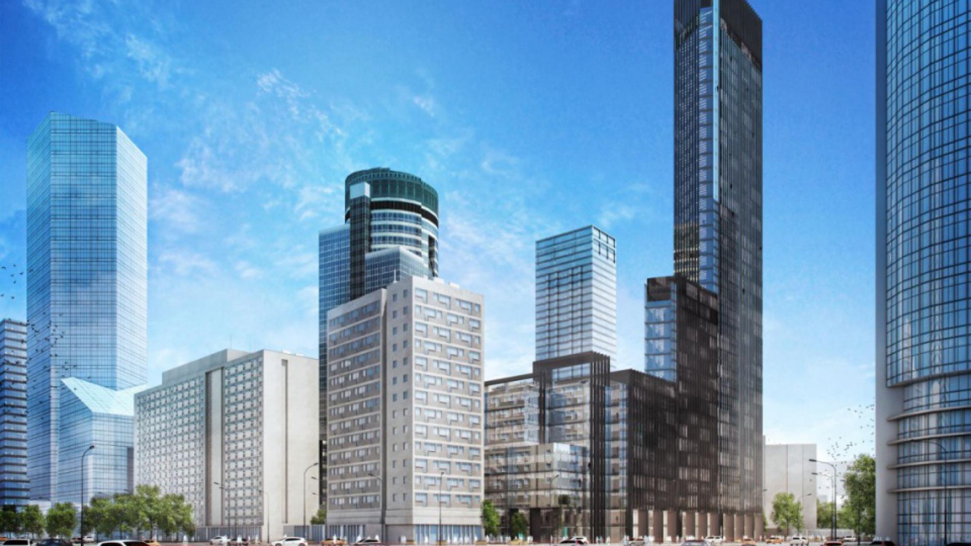 Wysokościowa inwestycja biurowa City Tower ma powstać na działce przy ul. Świętokrzyskiej 36 w warszawskim Centralnym Obszarze Biznesu. Pracownia PBPA intensywnie pracuje nad koncepcją.