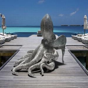 Fotel Octopus projektu Maximo Riera. Fot. Maximo Riera.