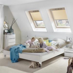 Poddasze bezpieczne dla dzieci. Fot. Roto Okna Dachowe